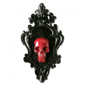 Cuadro Skullture Red Skull