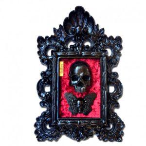 Cuadro Skullture Skull & Butterfly