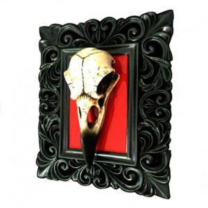 Cuadro Skullture Bird Skull