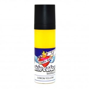 Tinta para tatuar Skin Colors Lemon Yellow 30 ml